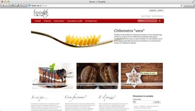 Food-ita', eccellenze alimentari che si comprano on-line!