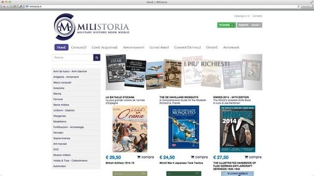 milistoria: e-commerce di libri storici militari