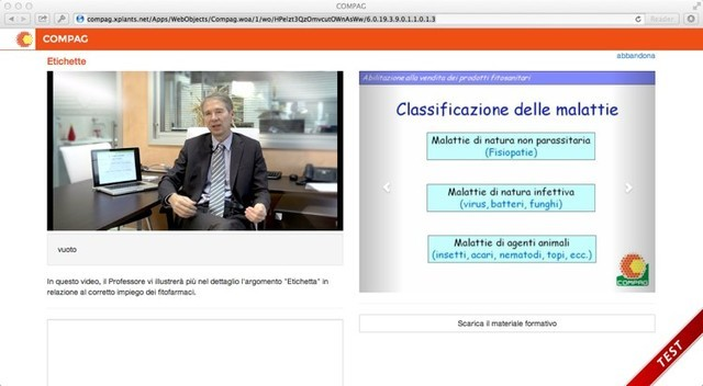 e-learning: video, slide e documentazione da scaricare