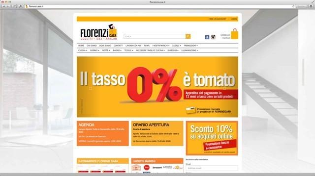 Florenzi Casa, e-commerce