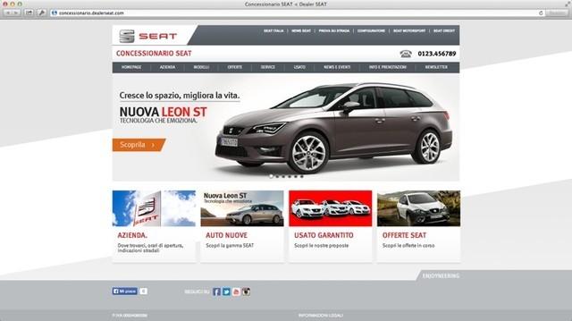 Home page del Concessionario Seat