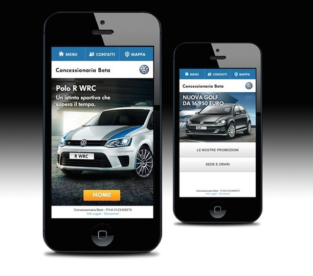 Dealer Web Volkswagen Mobile