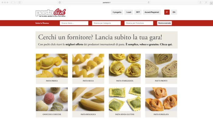 PastaBib, il Portale per i produttori di pasta e per i buyer