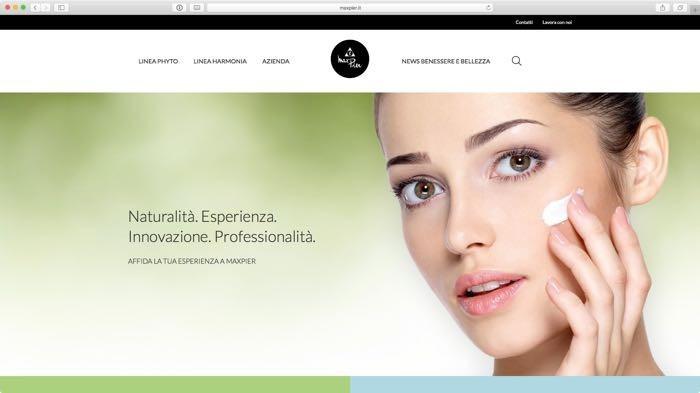 nuovo sito per MaxPier