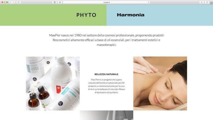 le linee di bellezza: phyto e harmonia