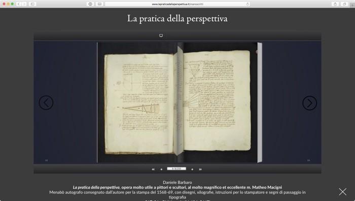 i manoscritti sfogliabili