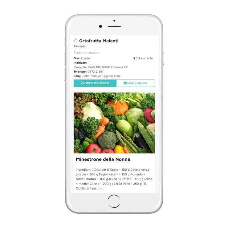 Home page di uno dei negozi Smart City Center