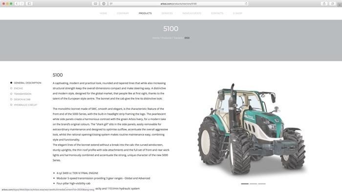 il trattore 5100
