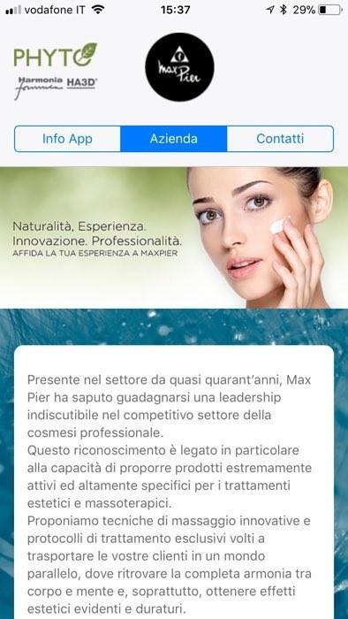 App Estetiste MaxPier