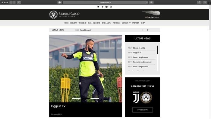 Notizie Udinese
