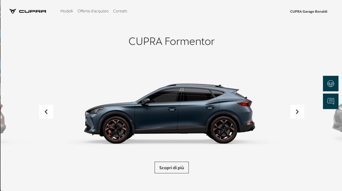 nuovi modelli Cupra