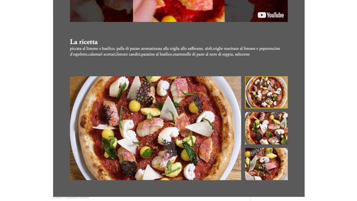 le foto e le ricette della pizza
