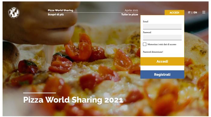 accesso per i pizzaioli