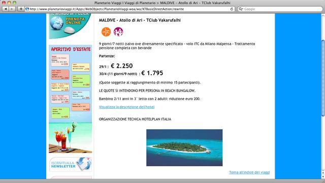 Alle Maldive!