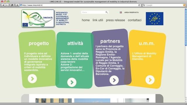 Provincia di Reggio Emilia, Progetto IMOSMID